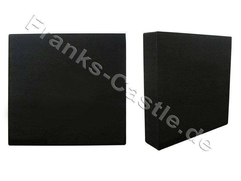 80 x 80 x 17 cm mit auswechselbarer Mitte Franks-Castle Zielscheibe extrastark Polifoam bis 70 lbs