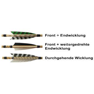 Mittelalterlicher Holzpfeil: Fichte 11/32