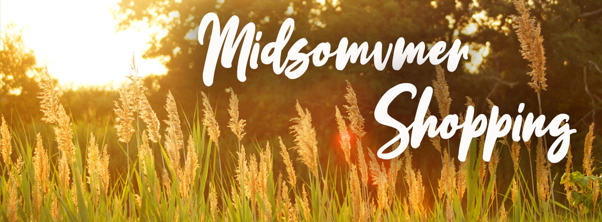 Am 28.06. ist Midsommer Shopping!